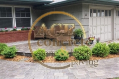 brick paver walk and patio (5) w